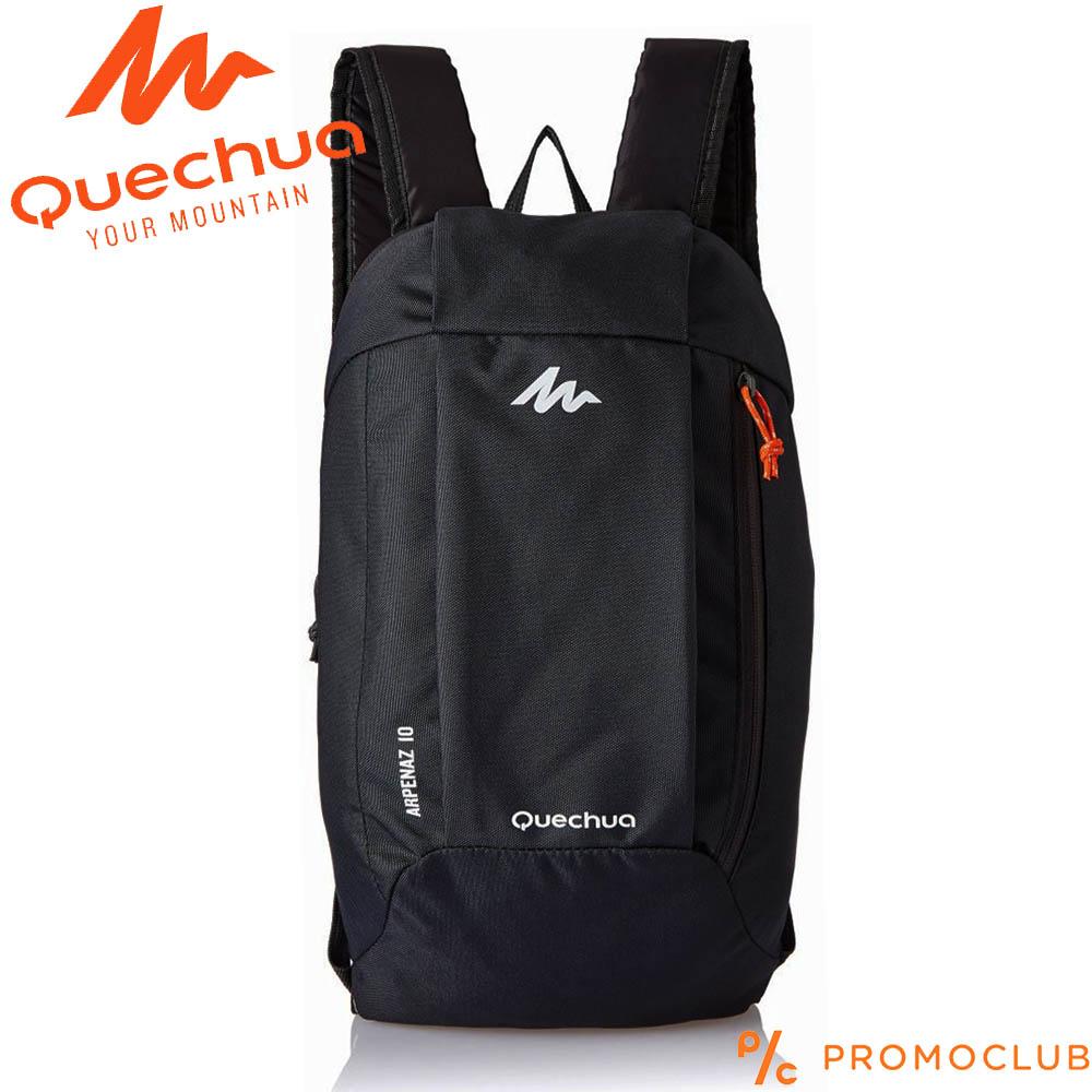 ✅ Унисекс раница QUECHUA ARPENAZ 10 BLACK COMPACT,  10 литра, черна