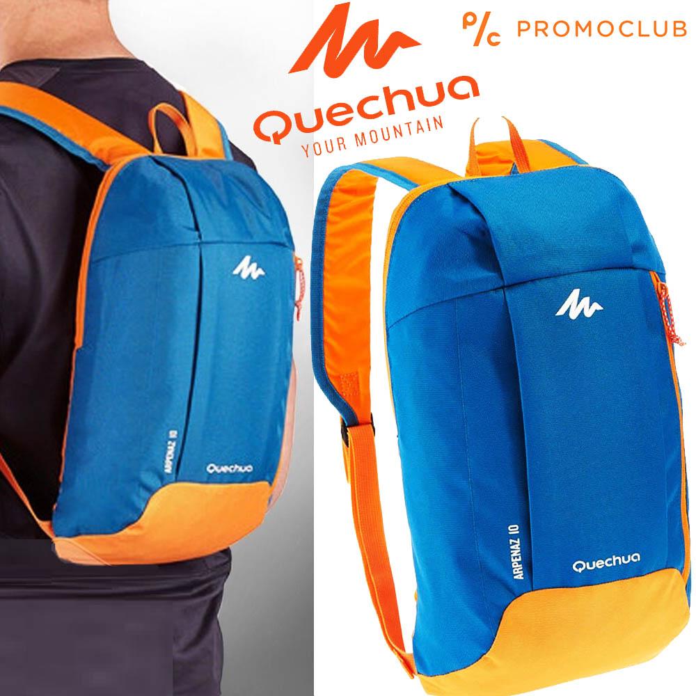 Унисекс раница QUECHUA ARPENAZ 10 BLUE-ORANGE,  10 литра, синьо-оранжева