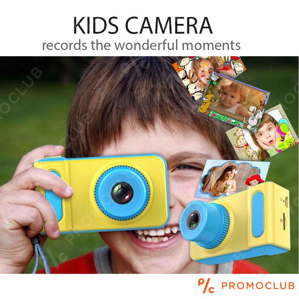 Истински детски фотоапарат - дигитална камера за снимки, видео и звук, слот за карта памет