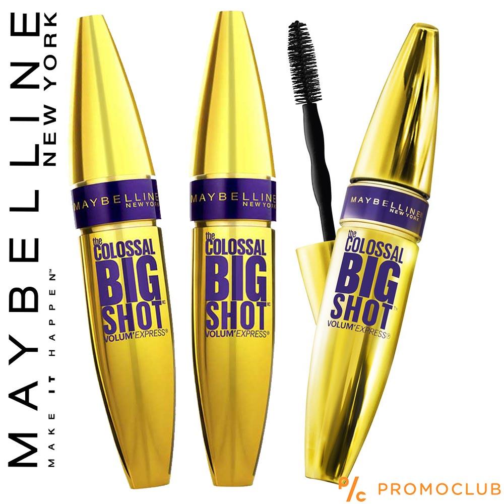 3 броя спирали за мигли Maybelline BIG SHOT NEW YORK, ТОП модел за обем, YOUR FIX