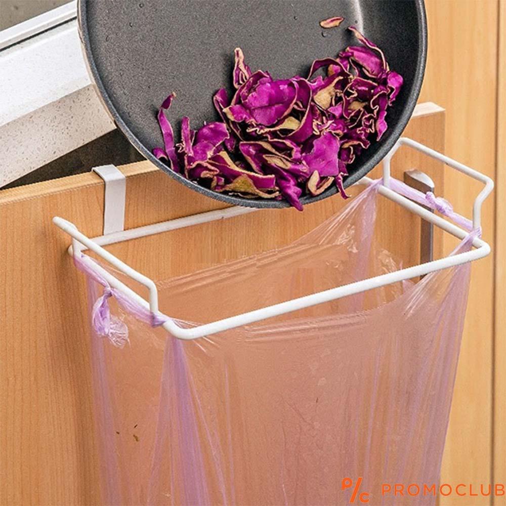 Метална закачалка за пликове, торби и боклук GARBO