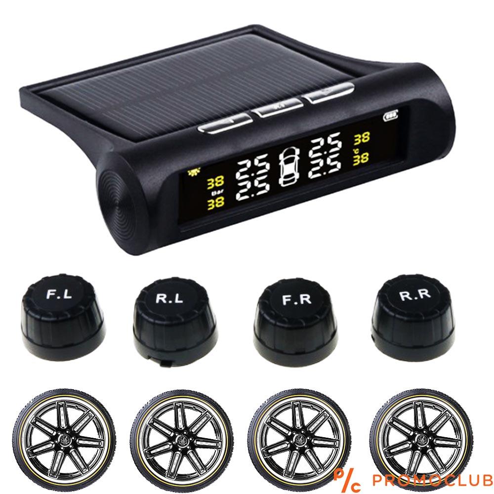 Система за контрол на налягането в гумите, безжична, соларна