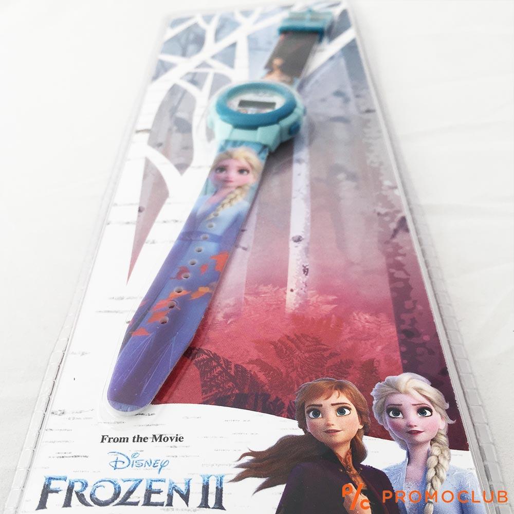 Детски часовник FROZEN - Елза и Ана, опростен, сигурен и защитен, 3+