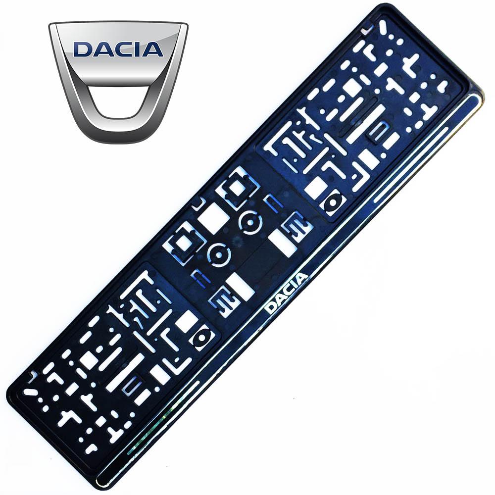Авто поставка за регистрационен номер на автомобил DACIA BLACK
