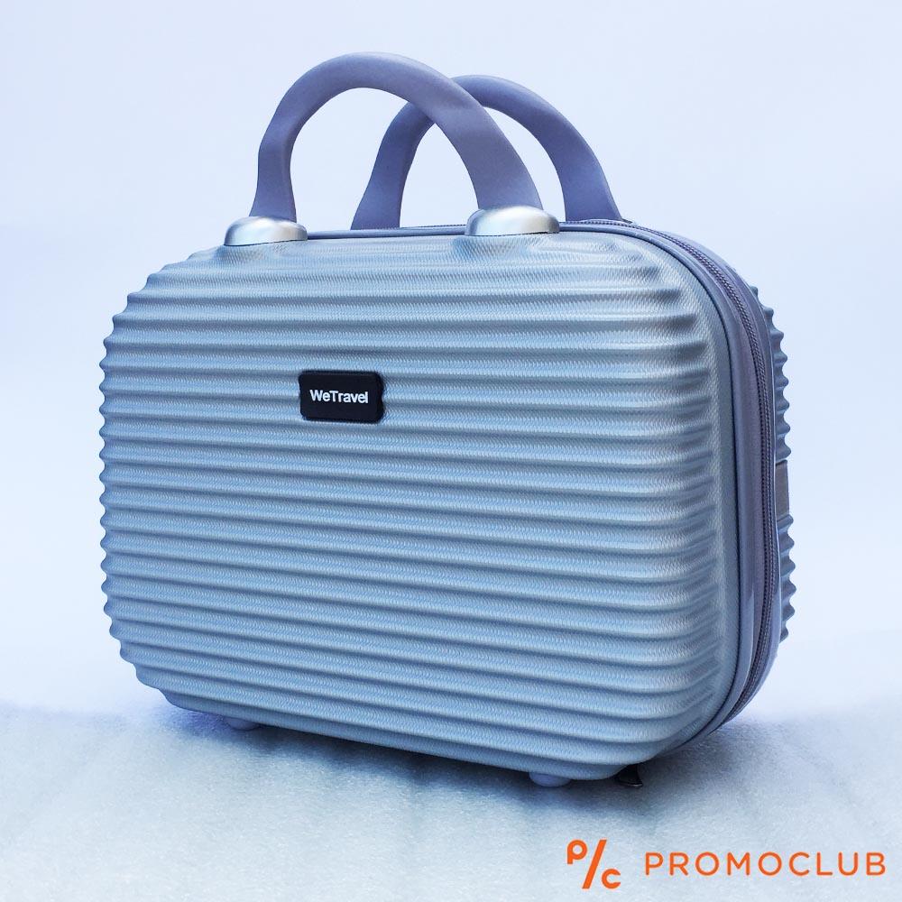 Бутикова надкуфарна авио чанта ABS WE TRAVEL SILVER, елегантна и удобна