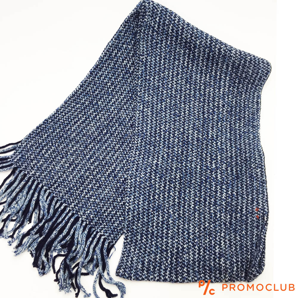 Мъжки зимен шал ZAG WINTER BLUE