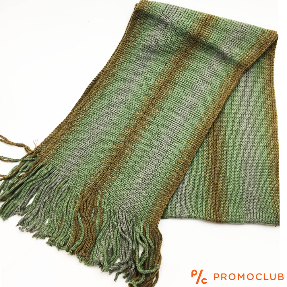Мъжки зимен шал ZAG WINTER GREEN