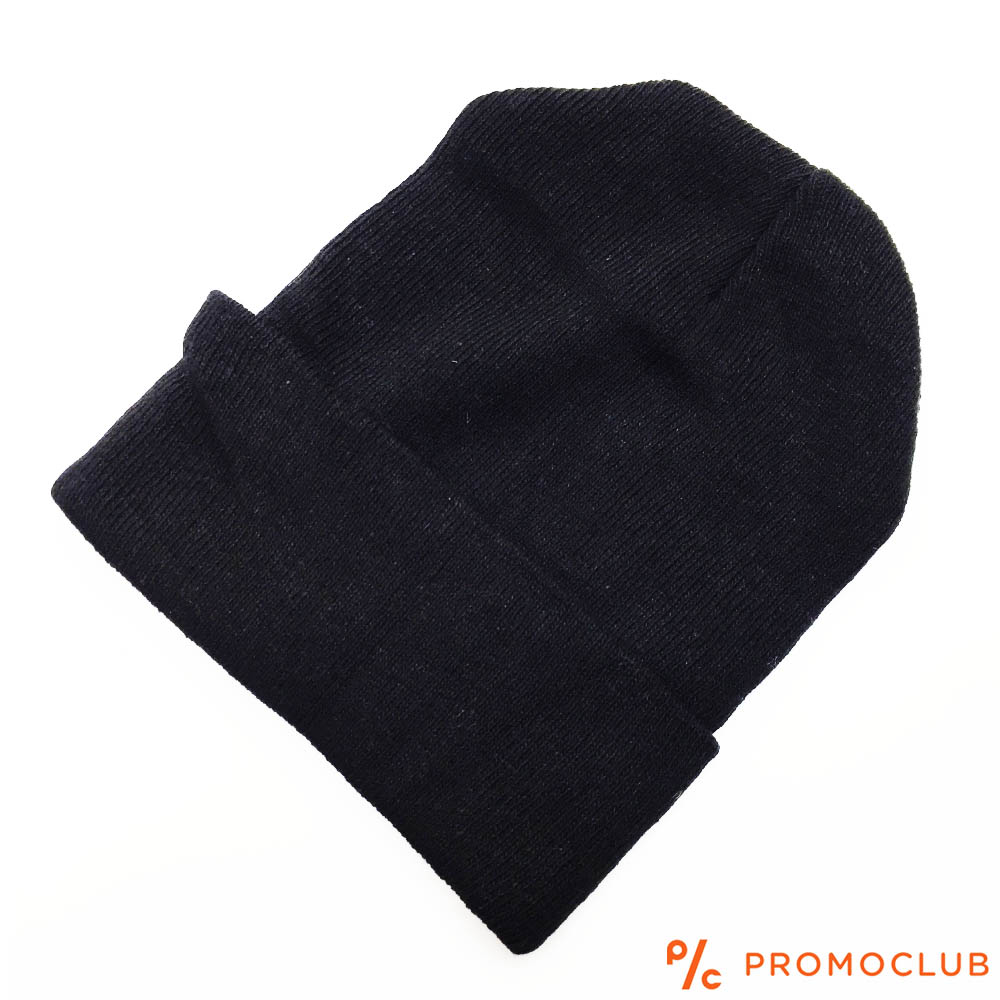 Класическа мъжка шапка тип ДОКЕР, черна