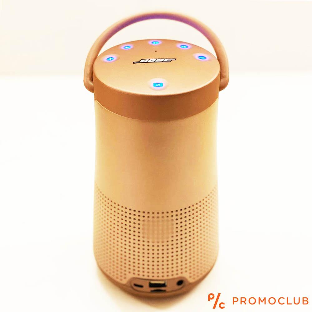 Голяма блутудна MP3 HiFi аудио система BOSE REVOLVE+ ROSE, висок клас реплика