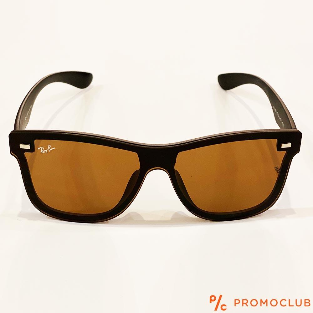 Слънчеви очила RAY BAN RB4388N BROWN 601S/3L, с ПОДАРЪК спортен кожен калъф MARC JOHN