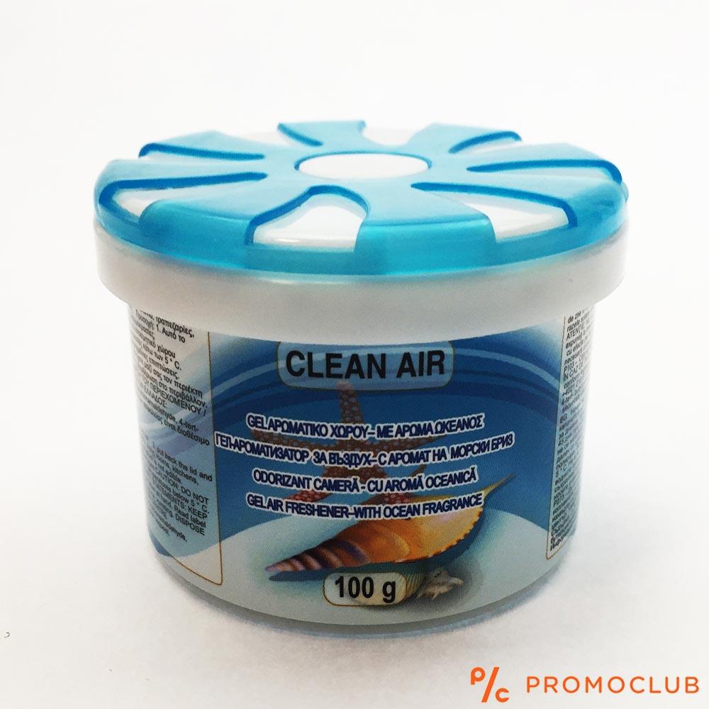 Траен ароматизатор ОКЕАНСКИ БРИЗ желе, 100 гр, за кола, гардероб или помещение