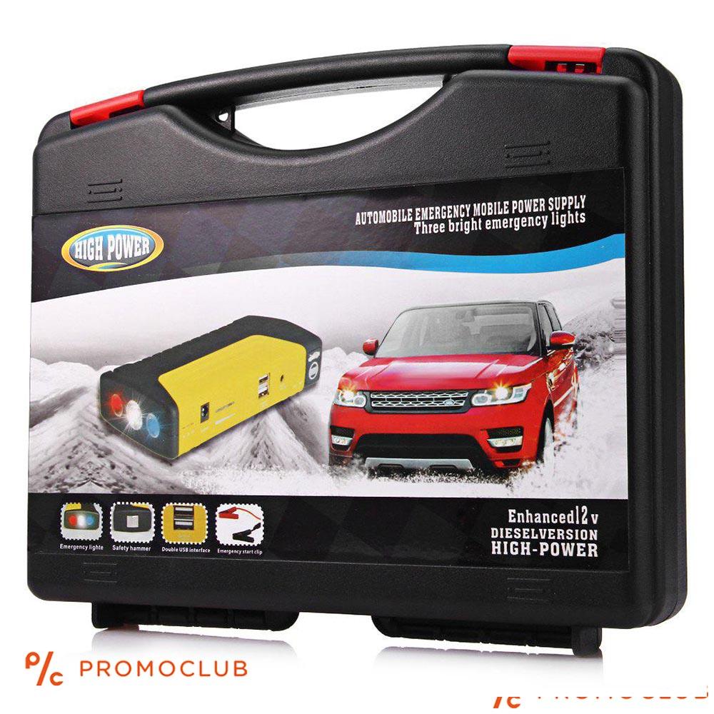 Мощен мулти джъмпер за всеки автомобил, полицейски светлини, зареждане на лаптоп и телефон