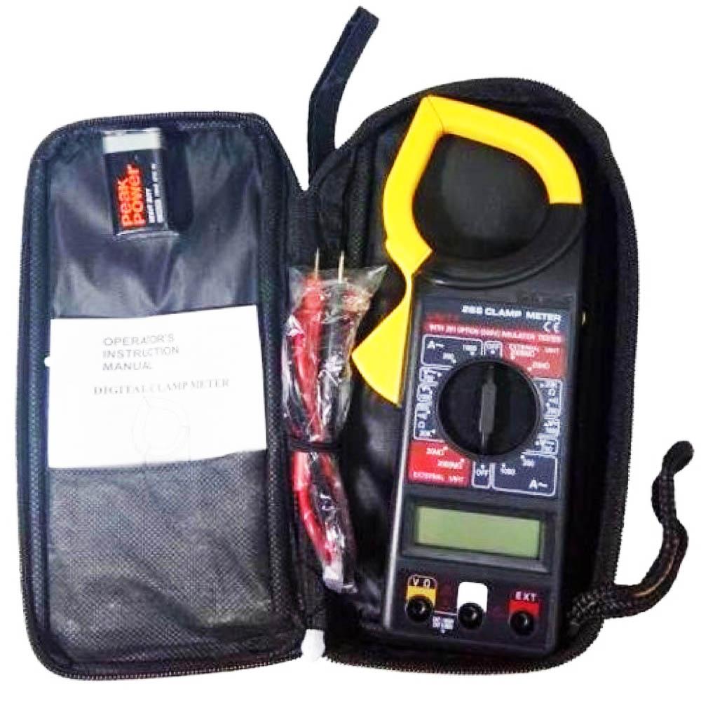 Професионален комбиниран електронно-измервателен уред - мултицет ампер клещи DT266