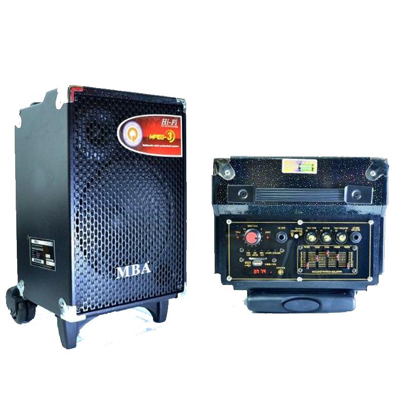Компактна и мощна акумулаторна тонколона за купон в движение: MBA Q-8, RMS150W