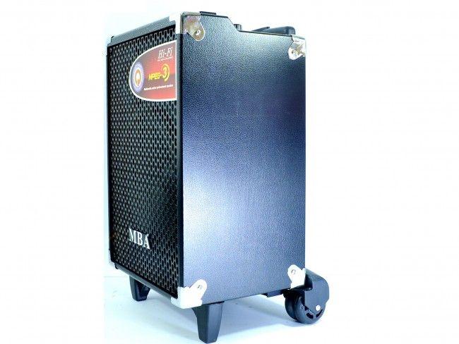 Активна караоке токолона : MBA Q-8B, RMS150W-88dB с 2 микрофона
