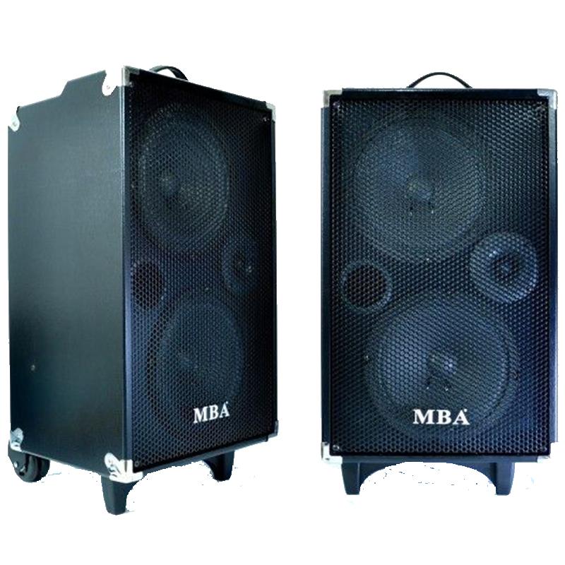 Активна автономна караоке тонколона MBA S28, 500W, RMS150W, с един безжичен микрофон