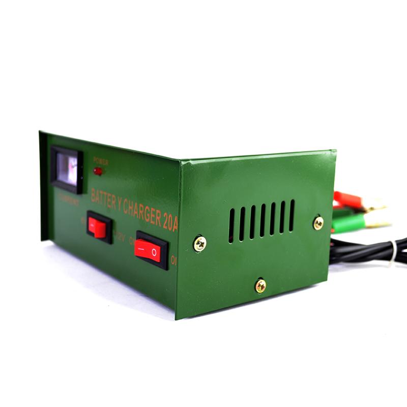 Мощно автозарядно за акумулатори  6V-12V 20A