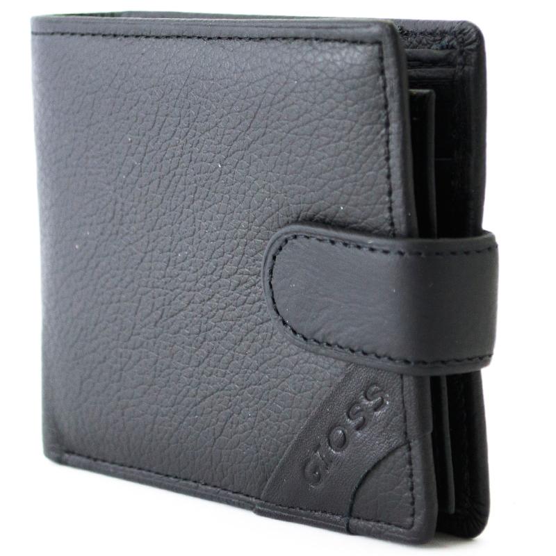 Кожен, мъжки портфейл GIOSS БС002-4