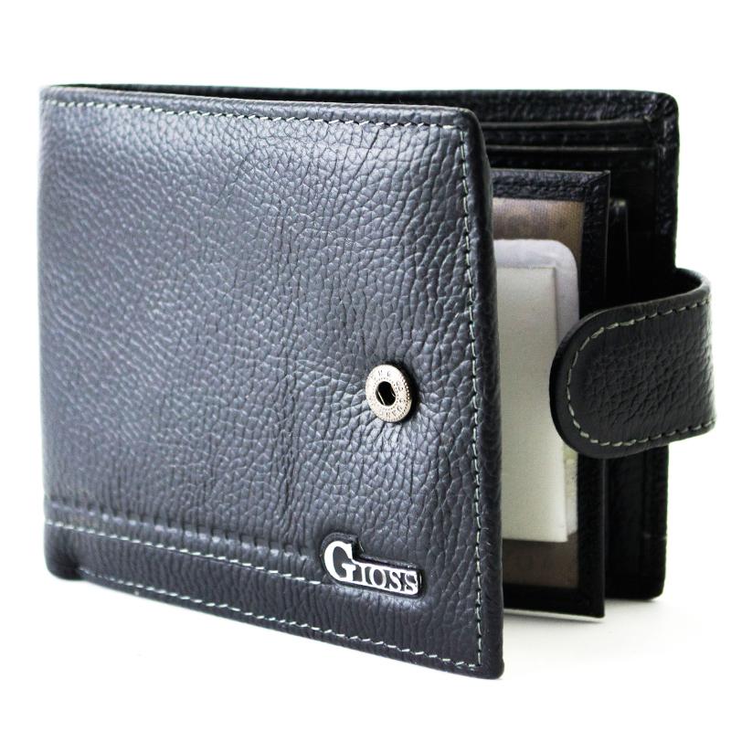 Кожен, мъжки портфейл GIOSS H10035
