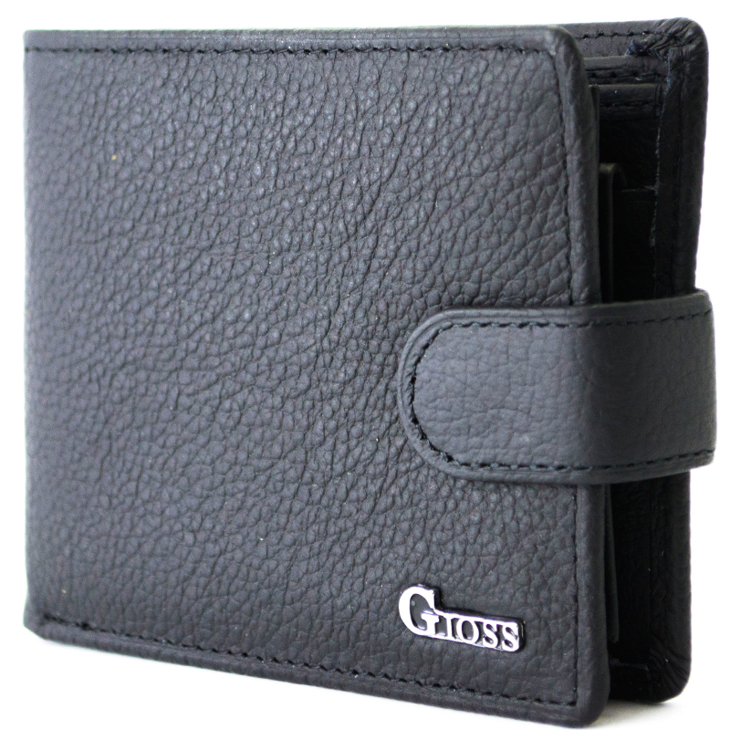 Кожен, мъжки портфейл GIOSS M002-8
