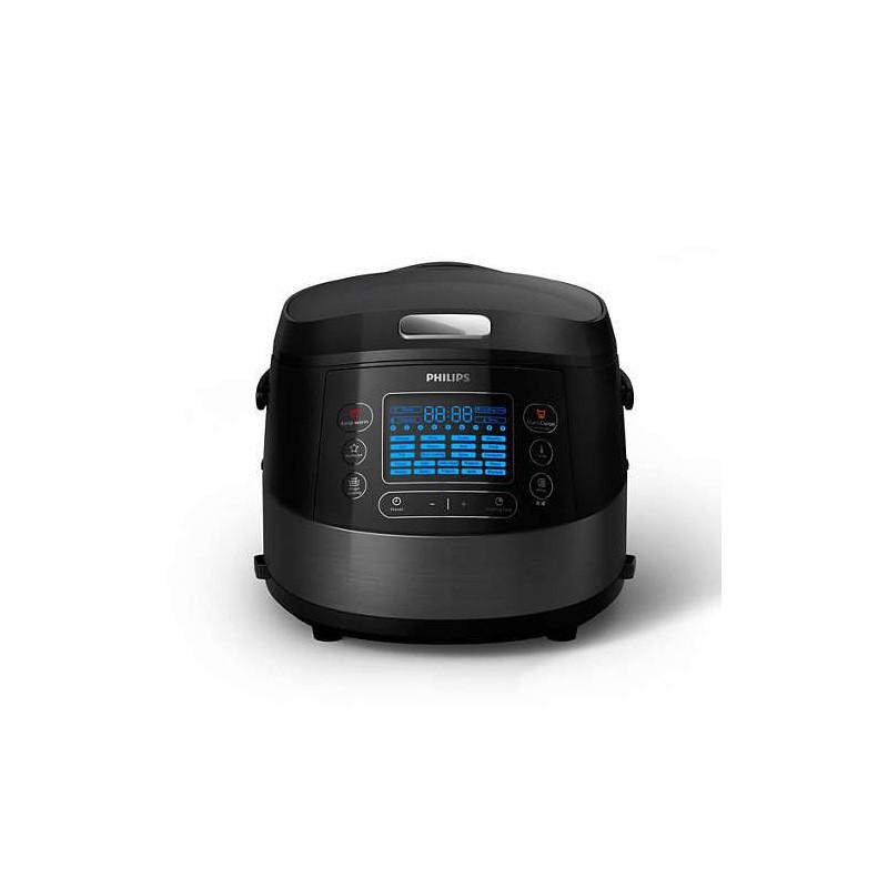 Multicooker Philips HD4749/70, 1070 W, 5 л, 22 Автоматични програми, Черен
