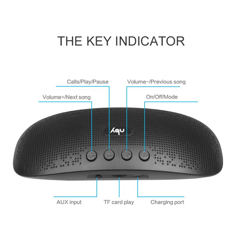 Портативна Bluetooth колона NBY 5560 UFO Блутут, AUX, USB, TF CARD, FM RADIO