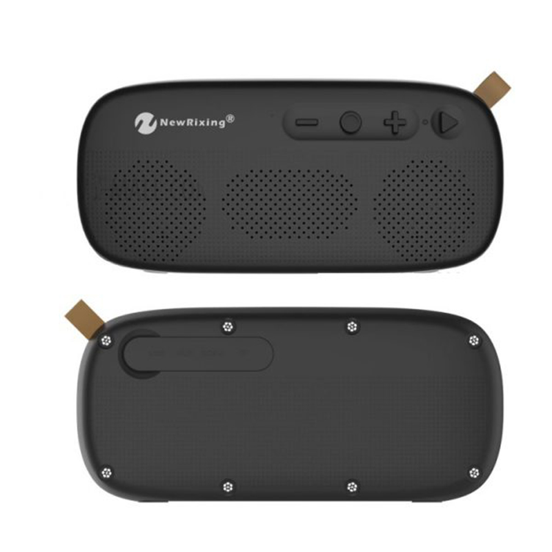 Bluetooth преносима HiFi колонка New Rixing 4012, AUX, FM RADIO, USB