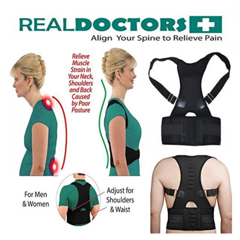 Поддържаща система за кръста и гръбначния стълб REAL DOCTORS POSTURE SUPPORT BRACE