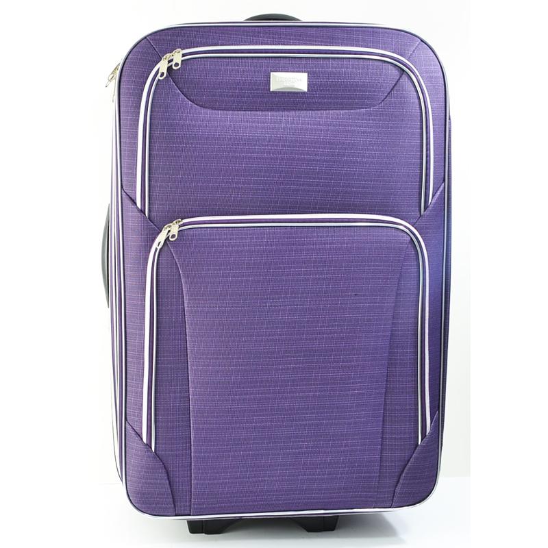 Perfect Line Purple , 3 разширяващи се куфара, твърд гръб, вграден механизъм 1319Г3