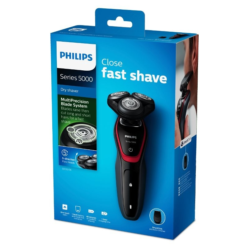 Philips S5130 Електрическа самобръсначка за сухо бръснене