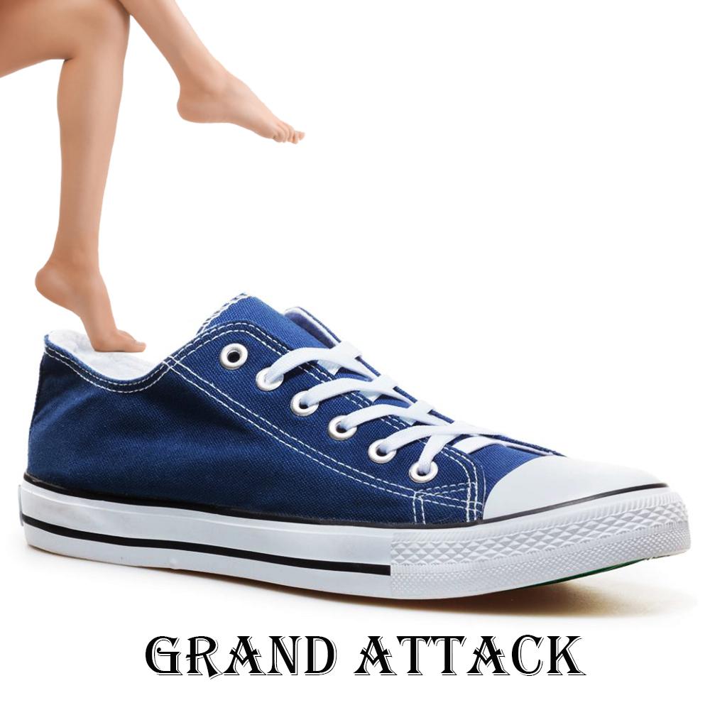 Дамски спортни обувки Grand Attack 30234-5 Blue, чифт чорапи - ПОДАРЪК