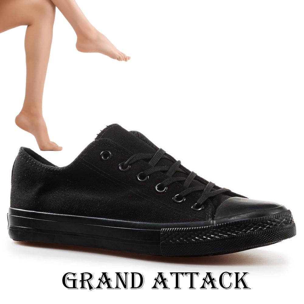 Дамски спортни обувки Grand Attack 30234-6 Black, чифт чорапи - ПОДАРЪК