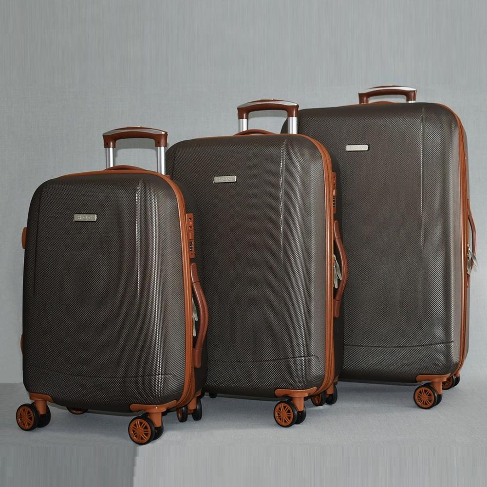 Най-висок клас комплект разширяващи се авио куфари Royal Generation 1619 Brown, ABS