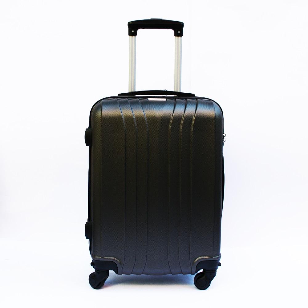 Ново поколение ръчен куфар - спинър със свалящи се колела TRANSIT J01 GRAPHITE, ABS
