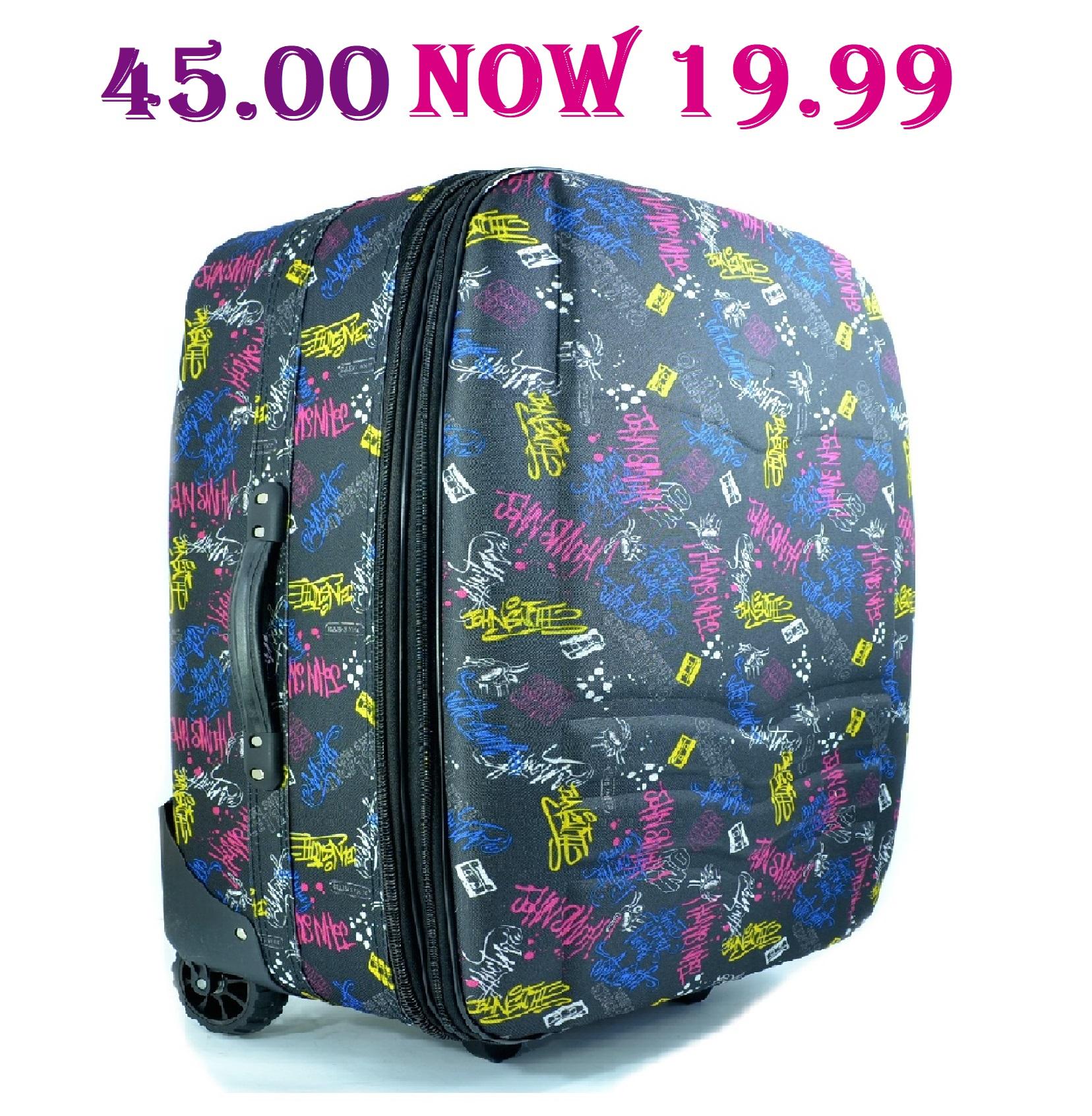 3a1e36896fc Малък супер куфар за ръчен багаж GRAPHY с дръжка и две колелца