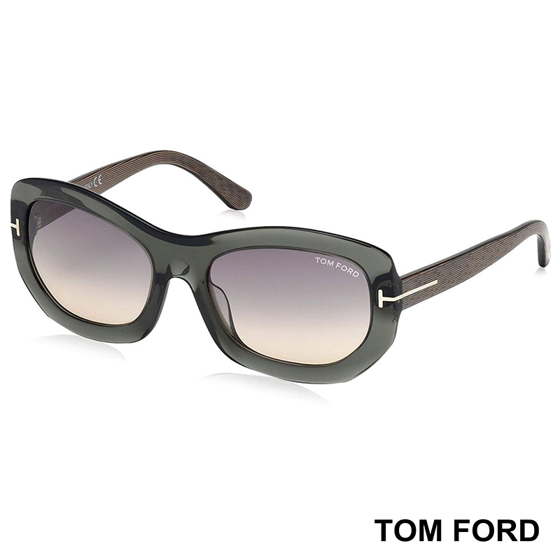 Дамски слънчеви очила TOM FORD AMY TF382 20B RECTANGULAR SUNGLASSES
