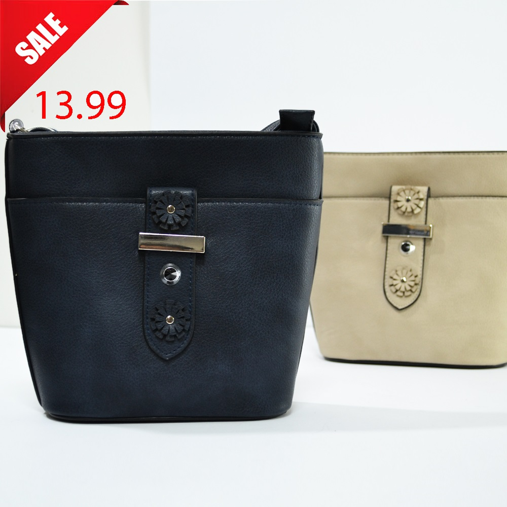 Стилна дамска чанта TWO FLOWERS B9206 , еко кожа, 5 цвята, ограничено количество