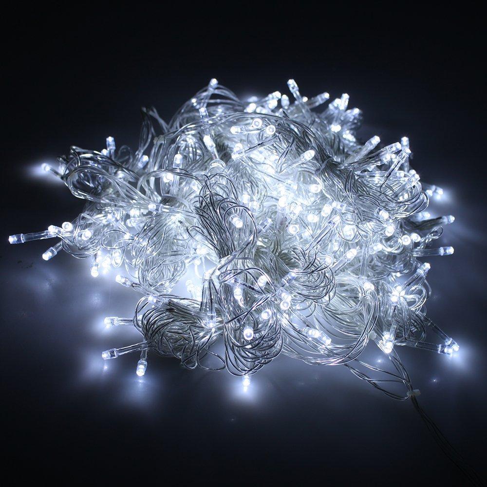 Коледни лампички, тип гирлянд, 200, 12m. - 11-144А