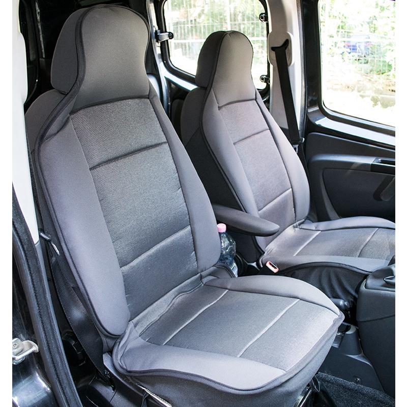Два текстилни авто калъфа за предните седалки- високо качество и вентилация