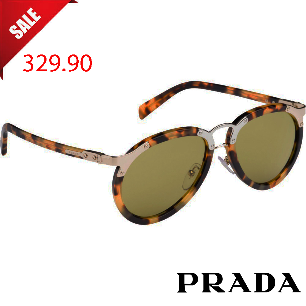 Слънчеви очила PRADA SPR01T LIGHT HAVANA GREEN