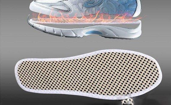 Турмалинови стелки за обувки и тонизирани ходила