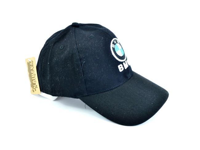Черна спортна шапка с козирка SPORT BLACK B394353