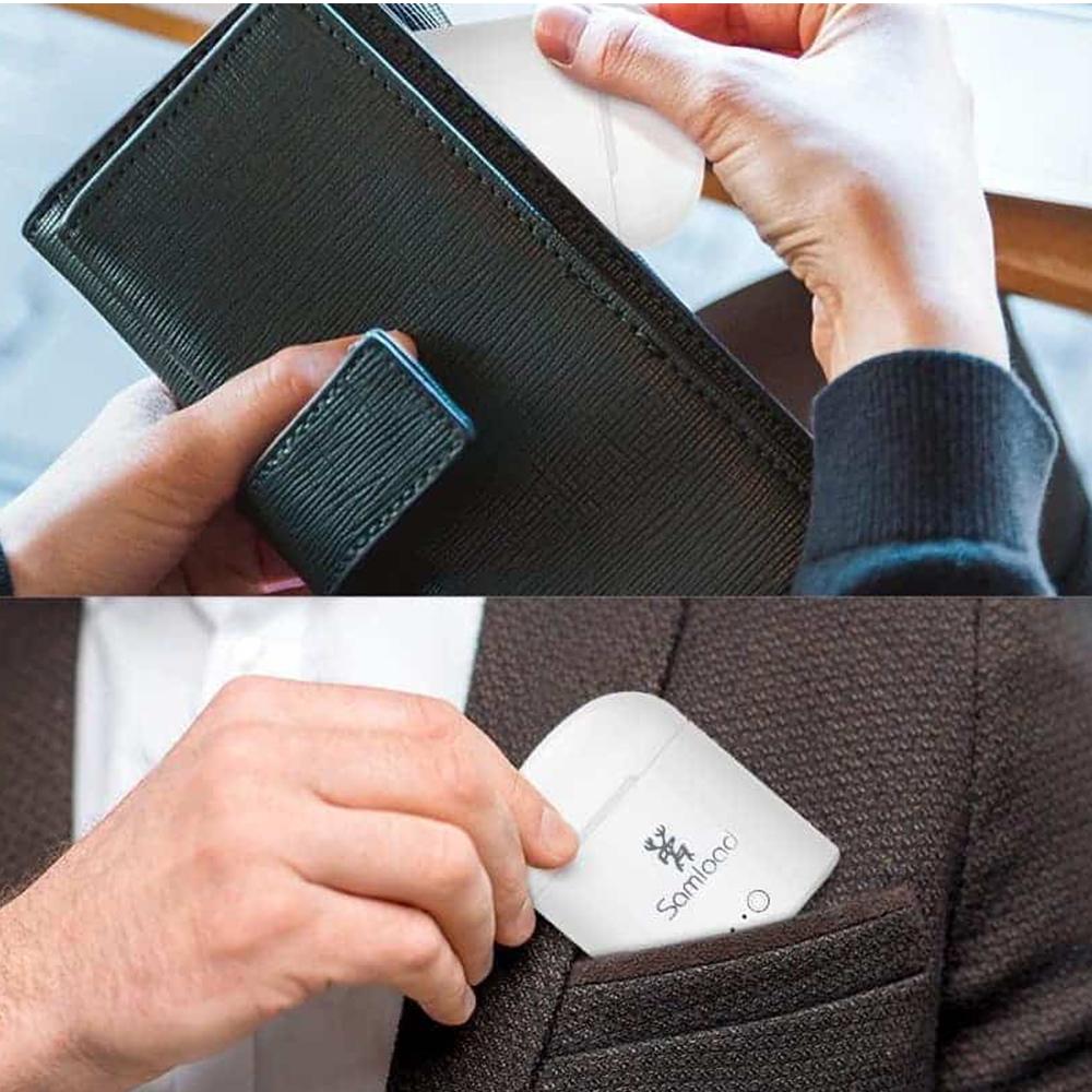 Ново поколение WIRELESS HANDS- FREE с BLUETOOTH i7-i8  2 броя с кутия  за зареждане