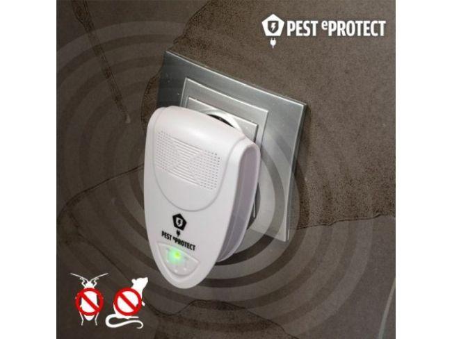 Супер мощна ултразвукова защита PEST REPELLER LI-3110 срещу гризачи, комари и хлебарки