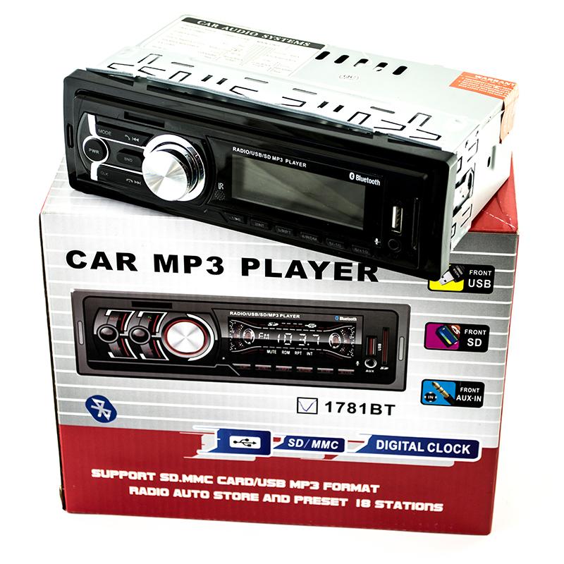Блутут  HiFi авто-аудио XPLOD 1781BT МP3 PLAYER microSD/AUX/FM/USB