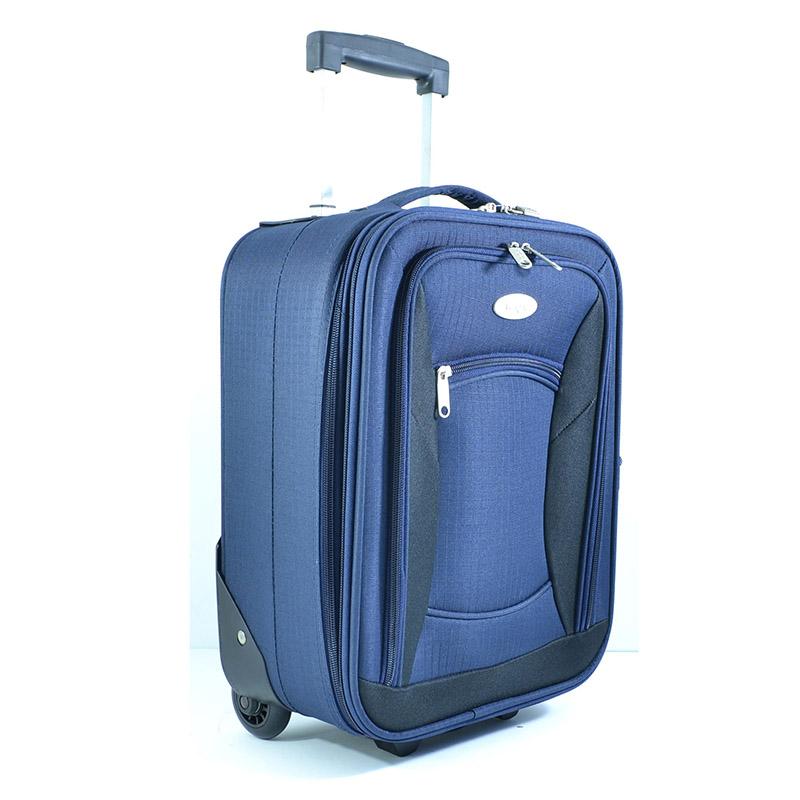 Разширяващ се универсален компактен куфар за ръчен багаж HQC 1302-3 висок клас 16