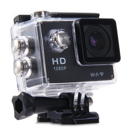 Водоустойчива 30M Action камера 1080P H.264 Full HD с Wifi връзка