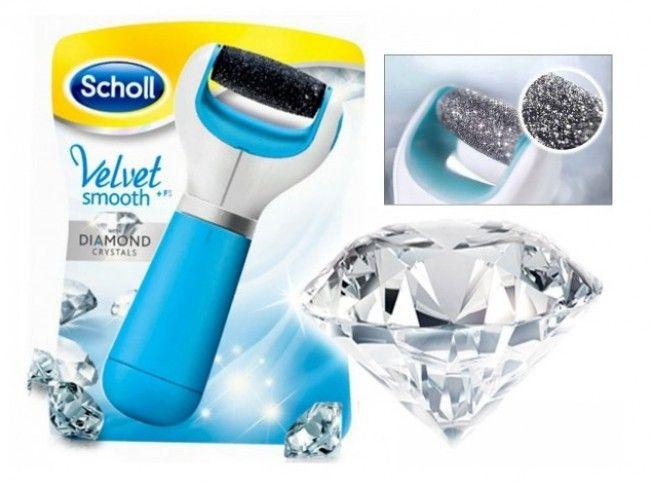 SCHOLL VELVET SOFT DIAMOND SERIES  - електрическа пила за пети