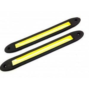 Най-добрите луксозни водоизолирани дневни LED светлини 14111 с функция мигач - 12/24V
