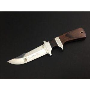 Къс римски тежък нож COLUMBIA USA А09 с лакирана орехова дръжка